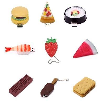 HDE 8GB & 16GB Food Snack Dessert Shaped High Speed USB Flash Thumb Drive Memory Stick