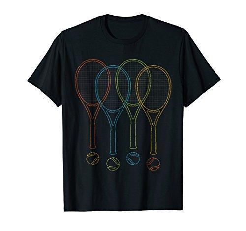 (Tennis T Shirts For Men, Women & Kids | Tennis Racket Shirt)