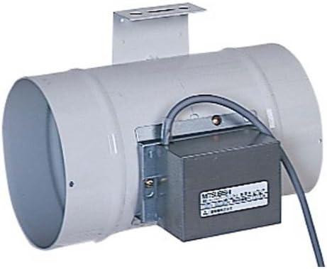 三菱電機 (MITSUBISHI) ダクト用システム部材 中間取付形電動シャッター (排気用) P-18DUE4