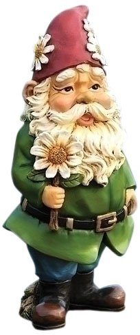 Lg Resin Tree - Joseph Studio 65900 Tall Gnome Garden Statue, 12-Inch