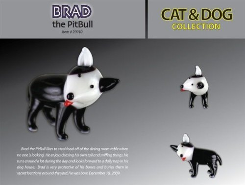 Looking Glass Brad The Pit Bull Toy - Pit Brad Glasses