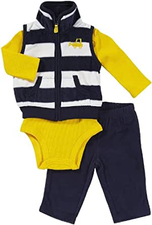 Carter's Micro Vest - Navy- 6 Months