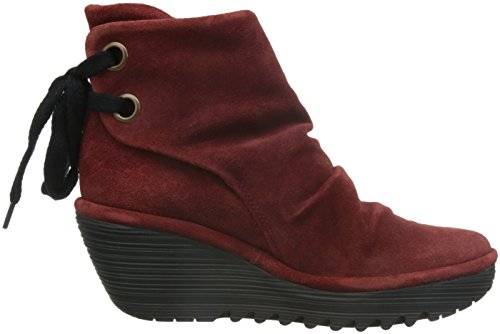 Fly Bottes Yama Suede Femme London Oil Classiques Wine rTUwrqa