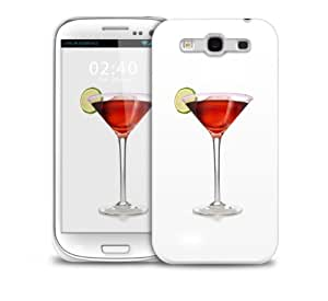 Wine Glass Samsung Galaxy S3 GS3 protective phone case