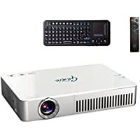Pico Genie M550 Plus Portable Projector (LED, HD, Shorter Throw, 3hr Battery, Android OS)
