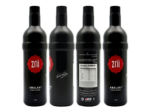 4 bottles of Zrii AMALAKI Botanical Beverage Mix White Grape Juice with Concord Grape Juice by Zrii