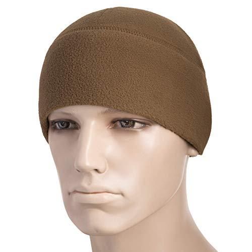 (M-Tac М-Tac Watch Cap Fleece 260 Slimtex Mens Winter Hat Military Tactical Skull Cap Beanie (Dark Olive, X-Large))