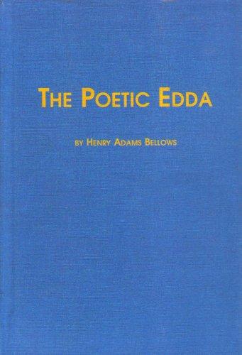 The Poetic Edda by Edwin Mellen Pr