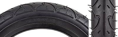 "Sunlit Freestyle Tire, 12-1/2 x 2-1/4"", Black"