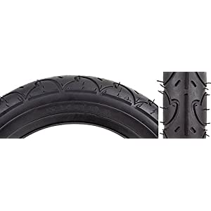 "Sunlit Freestyle Tire, 12 1/2 x 2 1/4"", Black"