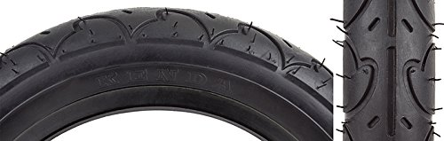Sunlit Freestyle Tire, 12-1/2 x 2-1/4'', Black