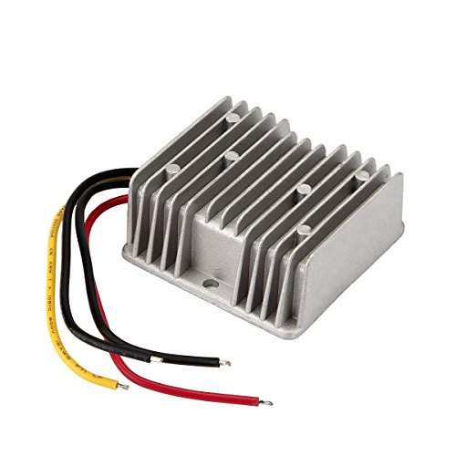 BlueWind Car Voltage Reducer,120W 48V to 12V 10A Waterproof Voltage Reducer for Golf (Best Yamaha Golf Carts)