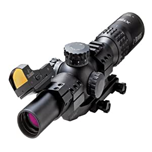 Burris XTR II Riflescope with 5.56 Ballistic Illuminated Reticle Combo, 1.5-5x 24mm