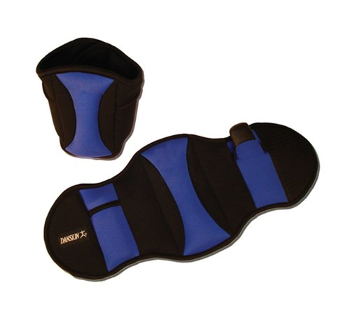 Danskin Adjustable 5 Pound Pair Ankle Weights Ankle