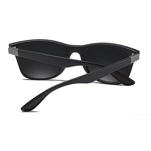 Yxsd los SunglassesMAN Hombres Clásicas UV400 Color del Estilo Sombras la de Lente Negra Unisex de C1 C1 Señoras Protectoras Gafas de Sol TIdUdr