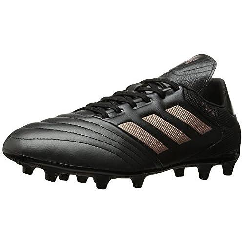 adidas Men's Shoes | Copa 17.3 Firm Ground Cleats Soccer, Black/Copper  Metallic/Black, (12 M US)