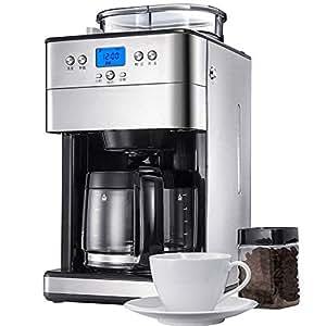 Amazon.com: Máquina de café totalmente automática moler ...
