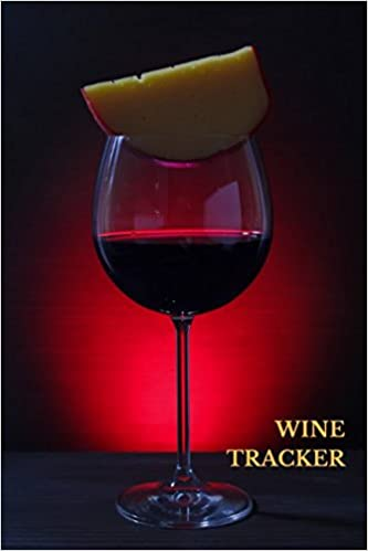 wine tracker wine lovers gifts 6x9 inches wine tasting notes