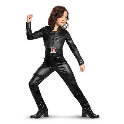 Black Widow Avengers Deluxe Costume Size: 3T-4T (Black Widow Avengers Costume)