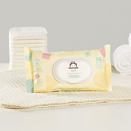 Mama Bear Soft Toallitas Húmedas para Bebé - 15 Paquetes x 56 Toallitas (840 unidades): Amazon.es: Amazon Pantry