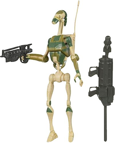 Star Wars Clone Wars AAT Driver Battle Droid CW33 3/4 Inch Action Figure ()