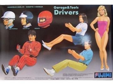 フジミ模型 1/24 ガレージ&ツールシリーズ GT4 ドライバ-の商品画像