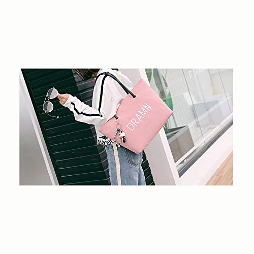 Simple Zijieshiye Bag Grand sac Casual Rose bandoulière Tote à rxAPwxqE1