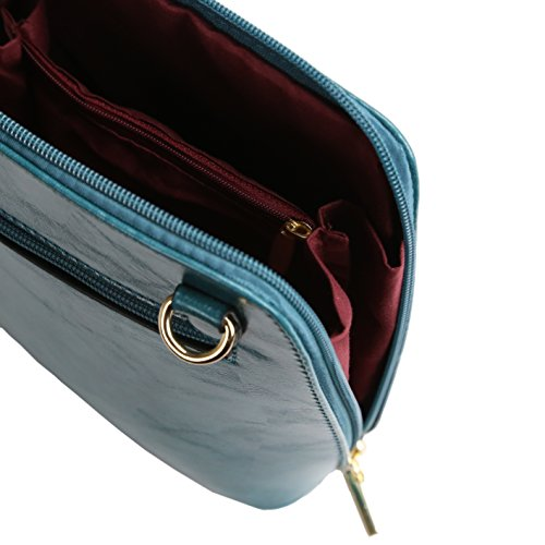 Teal Sling Classic Small Bag Darling's Modern Womens Crossbody Purse qUxXE8Fw