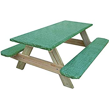 Amazon Com Unbranded 3 Piece Fitted Picnic Table Amp Bench