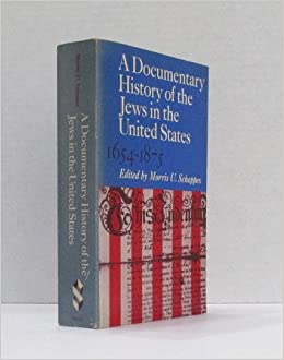 Book A Documentary History of the Jews in the United States: 1654-1875 (Schocken paperback edition)