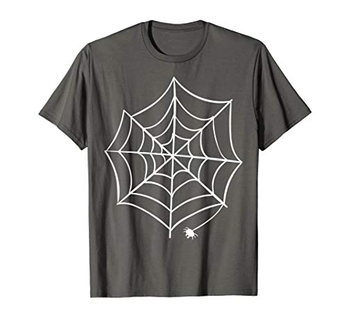 Spider and Spider Web Costume Shirt | Halloween Easy Gift]()