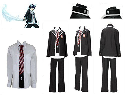 Blue Rin Costume Exorcist (Ao no Blue Exorcist Rin Okumura cosplay)