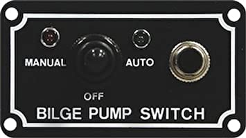 seasense bilge pump 3 way switch
