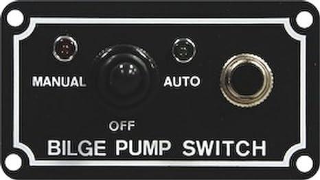 Amazoncom SeaSense Bilge Pump 3 Way Switch Boating Bilge Pumps