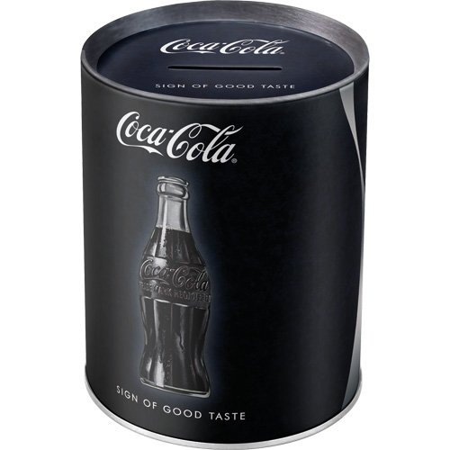 Nostalgic-Art 31018 Spardose Coca-Cola Sign Of Good Taste
