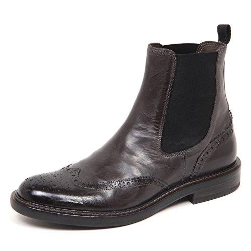 Polacchino Grigio 100 E0676 Vintage Man Grey Shoe Scuro Boot Hundred Uomo 6gUqEZC