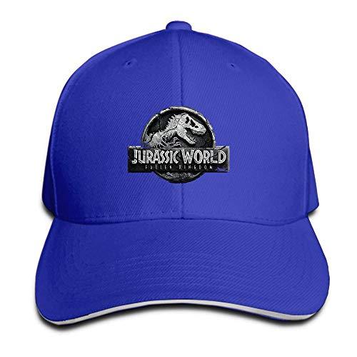 NBTJOOL Jurassic World Hat Sandwich Peak Cap Baseball Cap Hip Hop Adjustable Hat by NBTJOOL