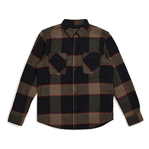 Casual Camisa Brixton Hombre Para Negro 5PO07O