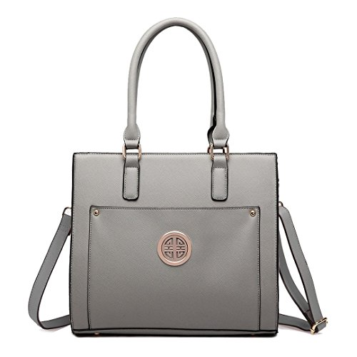 Miss Lulu ,  Damen Tasche grau