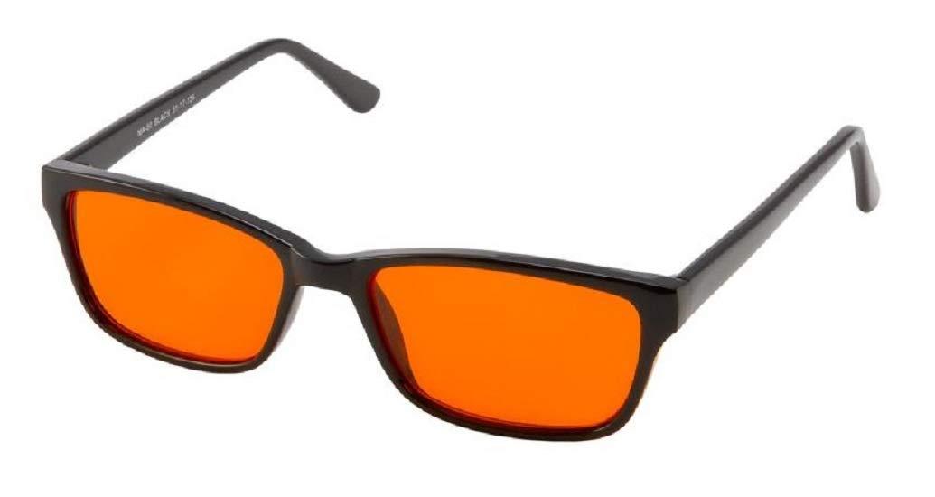 BLUblox Denver Sleep+ 100% Blue/Green Light Blocking Glasses