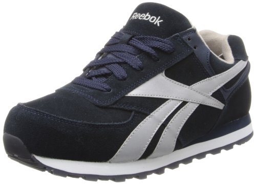 (Reebok Work Women's Leelap RB195 Work Shoe,Blue Oxford,9.5 W US)