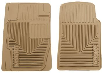 Husky Liners 51113 Semi-Custom Fit Heavy Duty Rubber Front Floor Mat - Pack of 2, Tan (Firebird Car Mats compare prices)