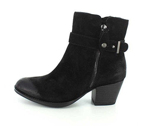 Royal resistant Black Boot Ankle Earth Women's Suede water 5qHTTF