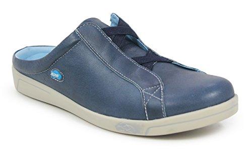 Arizona Blauwe Lederen Sneaker In De Cloud