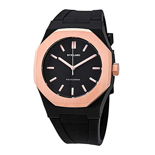 D1 Milano Polycarbon Black Dial Men's Watch PCRJ05