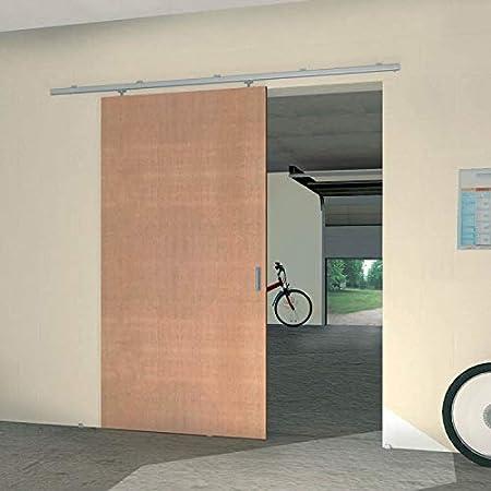 Herraje para exteriores Slid Up 1200, Carril de acero 155 cm, 1 puerta hasta 40 kg, para durchgangs puertas: Amazon.es: Bricolaje y herramientas