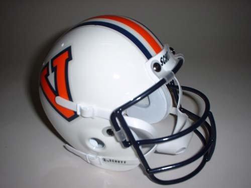 Schutt 1978 Virginia Cavaliers Throwback Mini Helmet