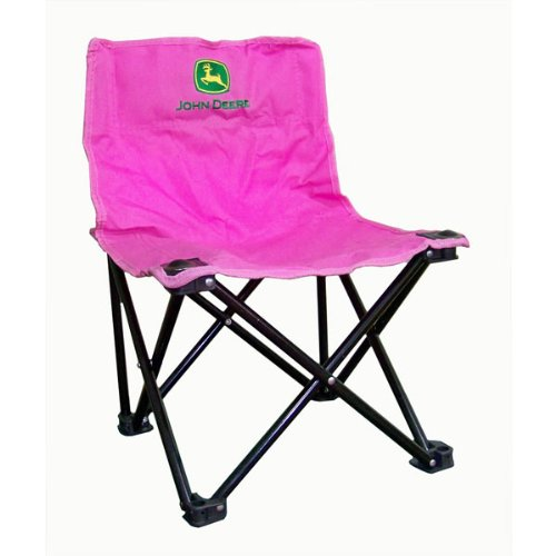 S&D John Deere Child Camp Chair - Pink