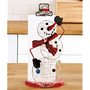 Holiday Paper Towel Holder - Snowman