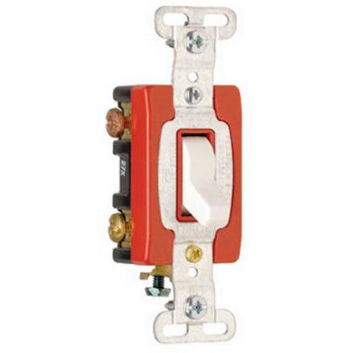 PASS & SEYMOUR CS320WCC 20A WHT 3W Tog Switch ()